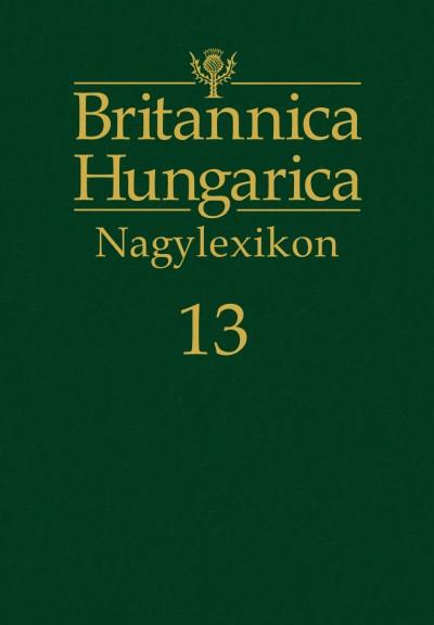 Nádori Attila  (Szerk.) - Britannica Hungarica Nagylexikon 13.