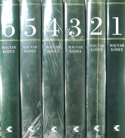 Szentpéteri József  (Szerk.) - Magyar Kódex 1-6.