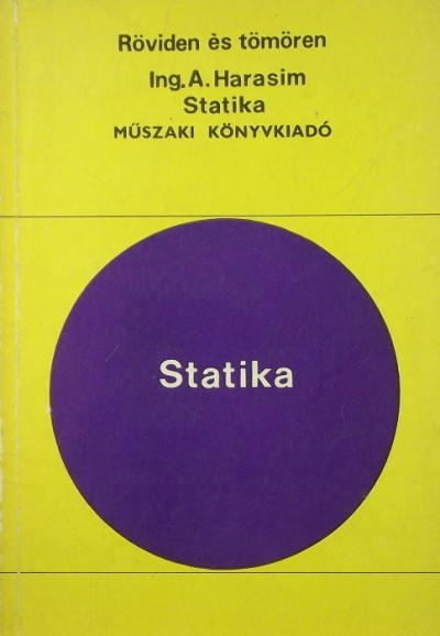 A. Ing. Harasim - Statika