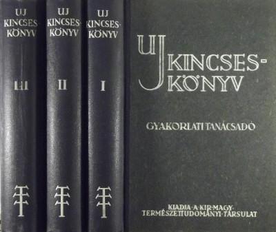 Dr. Aujeszky László  (Szerk.) - Dr. Gombocz Endre  (Szerk.) - Uj kincseskönyv I-III.