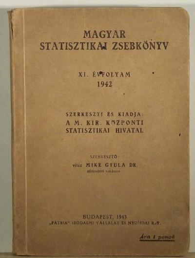 Mike Gyula  (Szerk.) - Magyar statisztikai zsebkönyv
