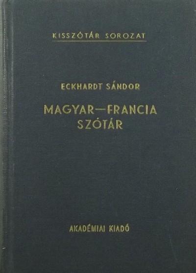 Dr. Eckhardt Sándor - Magyar-francia szótár