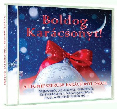 - Boldog Karácsonyt! - Magyar karácsonyi dalok válogatása - CD