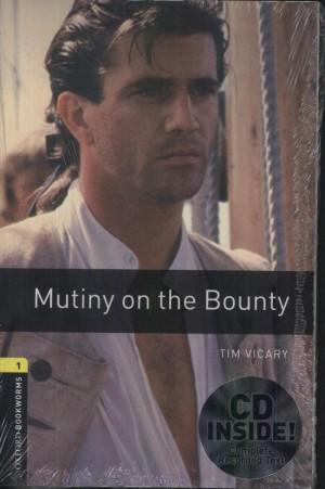 Tim Vicary - Mutiny on the Bounty -CD mell�klettel
