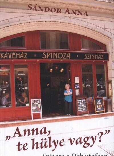 """Sándor Anna - """"Anna, te hülye vagy?"""" - Spinoza a Dob utcában"""