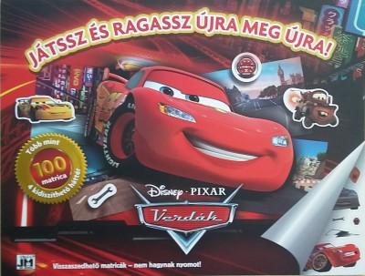 - Disney - Verdák - óriás matrica album