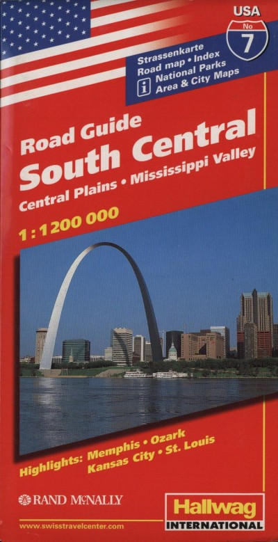 - Road Guide USA - South Central - Central Plains - Mississippi Valley