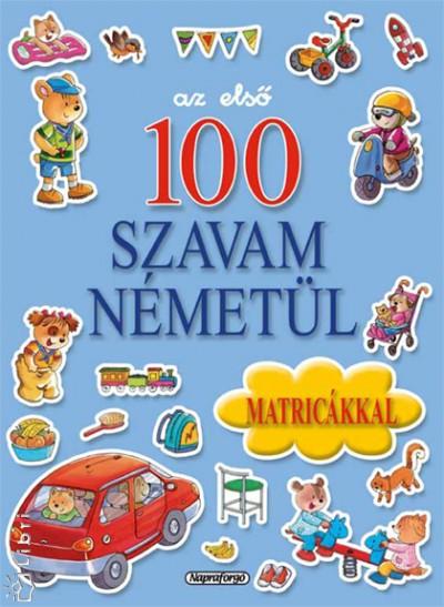 - Az első 100 szavam németül