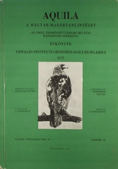 Dr. Sterbetz István  (Szerk.) - Aquila 1975
