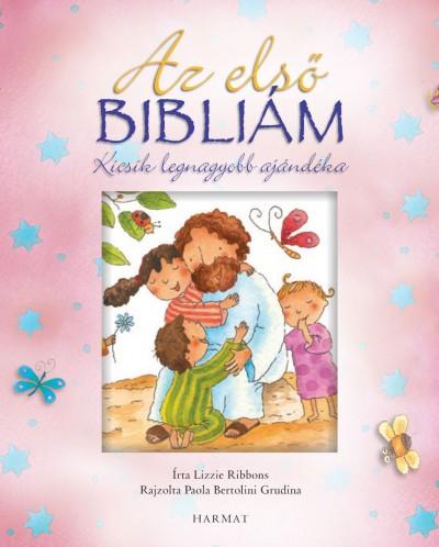 Lizzie Ribbons - Az első Bibliám - rózsaszín