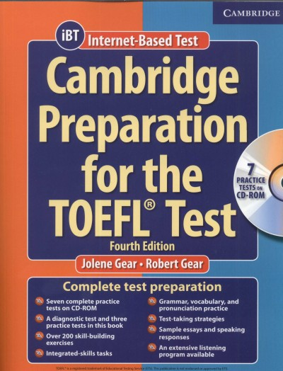 Jolene Gear - Robert Gear - Cambridge Preparation for the Toefl Test