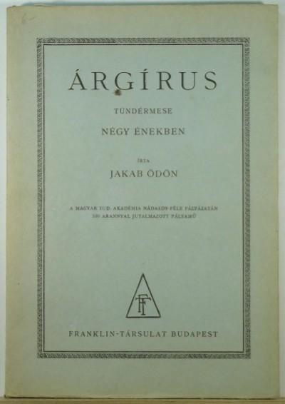 Jakab Ödön - Árgírus