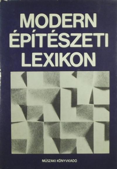 Kubinszky Mihály - Modern építészeti lexikon