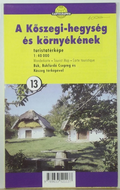 - A Kőszegi-hegység és környékének turistatérképe