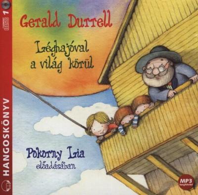 Gerald Durrell - Pokorny Lia - Léghajóval a világ körül - Hangoskönyv - MP3