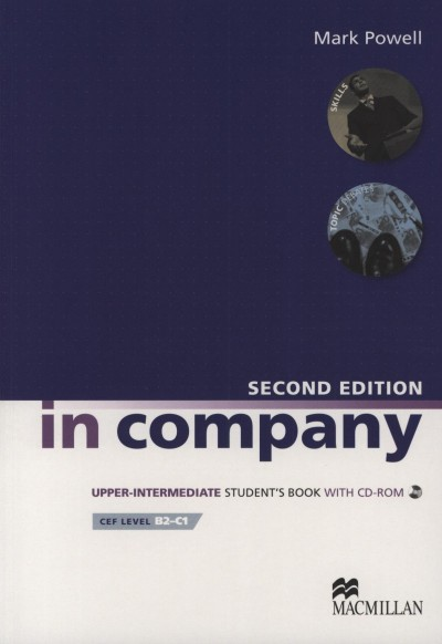 Mark Powell - In Company Upper-Intermediate - Student's Book with CD-ROM