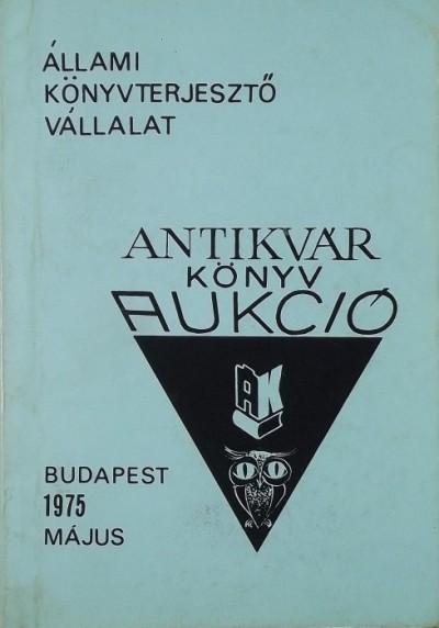 - Antikvár könyvek katalógusa IX.