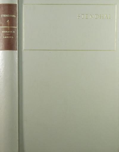 Henri Beyle Stendhal - Armance - Lamiel