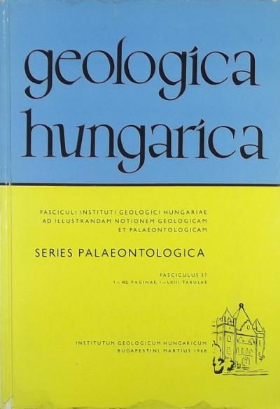 Szabóné Drubina Magda  (Szerk.) - Geologica Hungarica - Series Palaeontologica