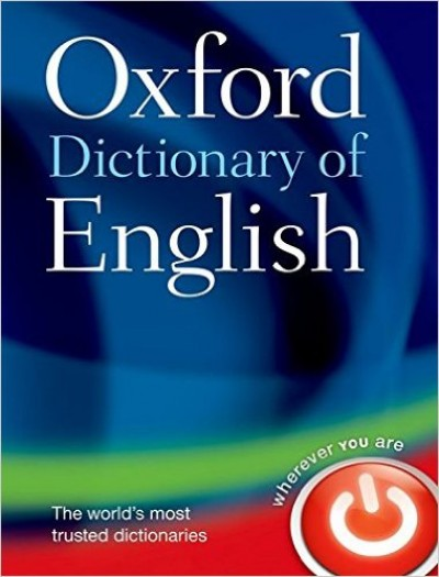 - Oxford Dictionary of English - 3rd edition