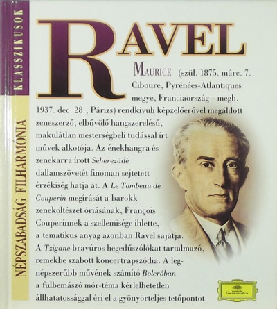 - Maurice Ravel (1875-1937) + CD