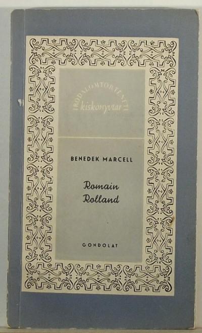 Benedek Marcell - Romain Rolland