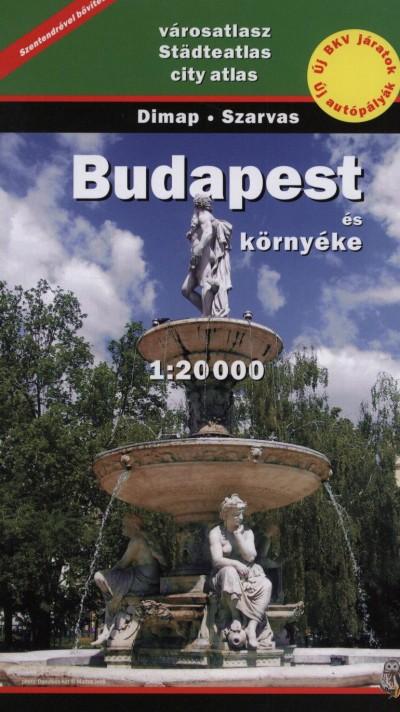 - Budapest és környéke atlasz