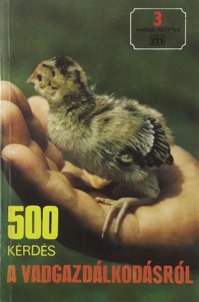 - 500 kérdés a vadgazdálkodásról