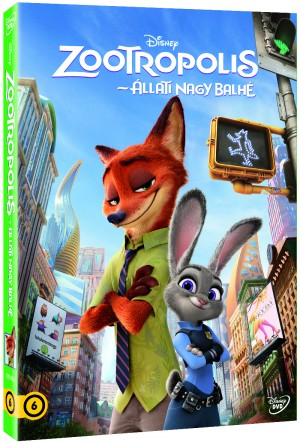- Zootropolis - �llati nagy balh� - DVD (D�sztokban)