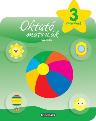 - Oktató matricák - Formák (3 éveseknek)