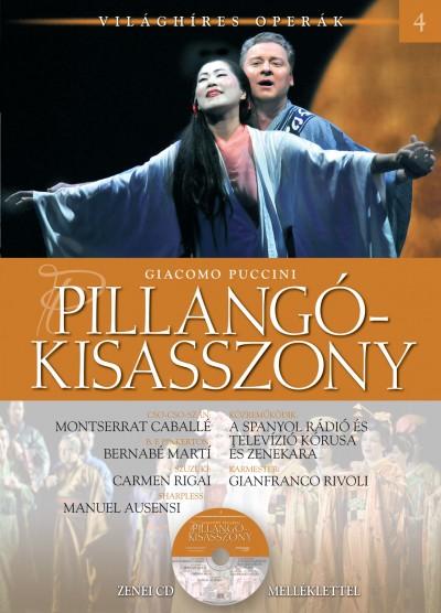Giacomo Puccini - Alberto Szpunberg - Pillangókisasszony - CD melléklettel