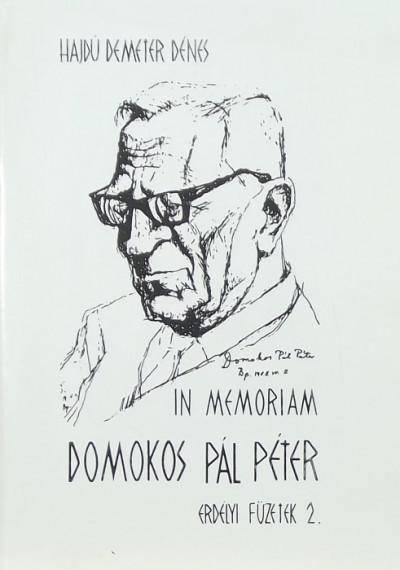 - In memoriam Domokos Pál Péter