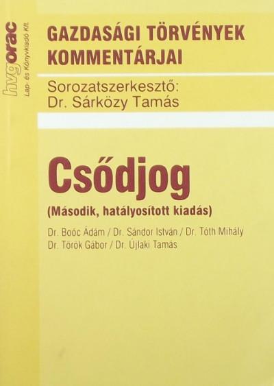 Dr. Sárközy Tamás  (Szerk.) - Csődjog