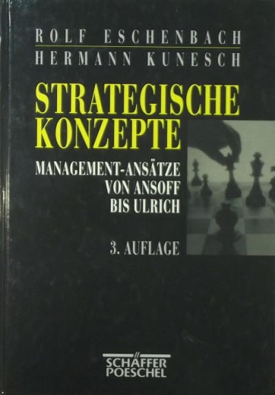 Rolf Eschenbach - Hermann Kunesch - Strategische Konzepte
