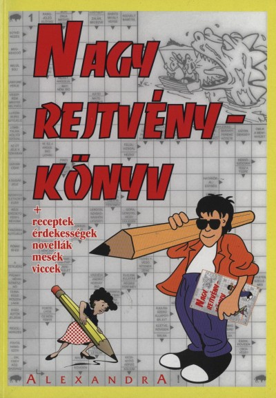 Kresz Károly  (Szerk.) - Nagy rejtvénykönyv