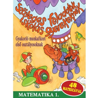 - Szöveges feladatok iskolás gyerekeknek - Matematika 1.
