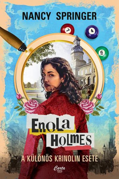 Nancy Springer - Enola Holmes - A különös krinolin esete