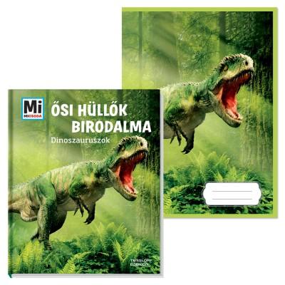 Manfred Baur - Ősi hüllők birodalma - Dinoszauruszok + ajándék füzet