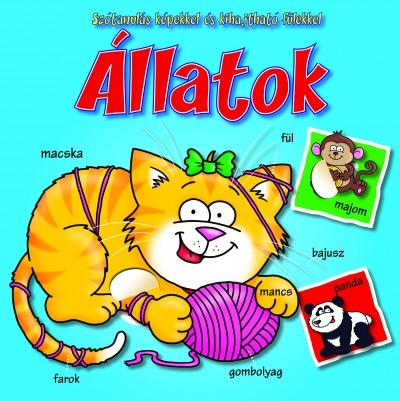 - Állatok - szótanulás képekkel és kihajtható fülekkel
