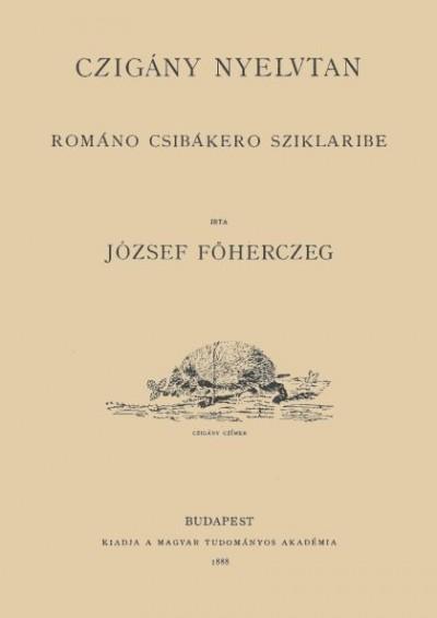 József Károly Lajos - Czigány nyelvtan - Románo csibákero sziklaribe
