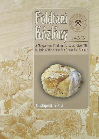 Császár Géza  (Szerk.) - Földtani Közlöny 143/3