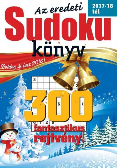 - Az eredeti Sudoku könyv 2017/18 tél