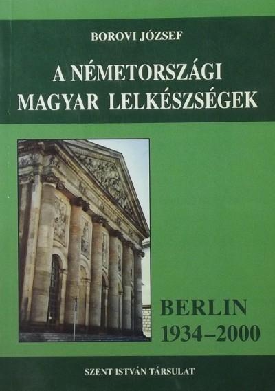 Borovi József - A németországi magyar lelkészségek