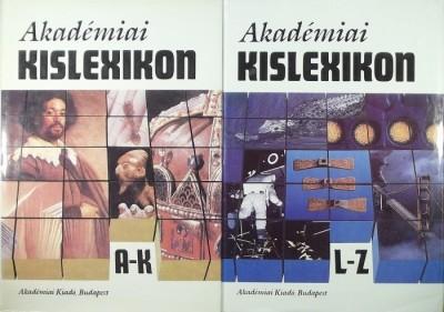 Beck Mihály  (Szerk.) - Peschka Vilmos  (Szerk.) - Akadémiai kislexikon 1-2.