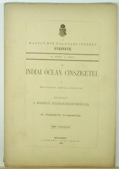 Dr. Posewitz Tivadar - Az Indiai-óceán cinszigetei I.