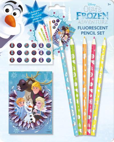 - Olaf - Fluoreszkáló ceruzák