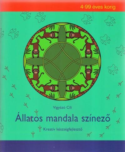 Vigyázó Cili - Állatos mandala színező