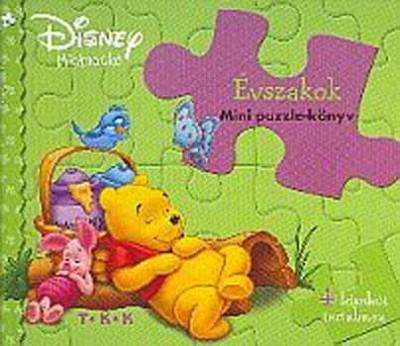 - Évszakok mini puzzle könyv