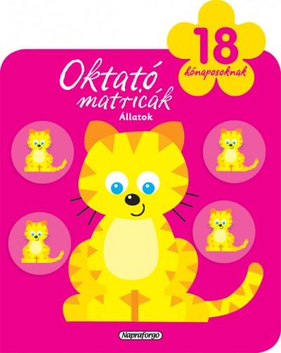 - Oktató matricák - Állatok (18 hónaposoknak)