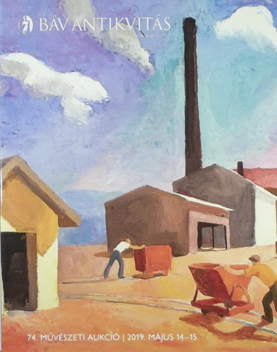 - BÁV Antikvitás - 74. művészeti aukció